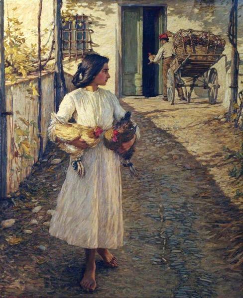 selling-chickens-in-liguria-1906.jpg!Large.jpg