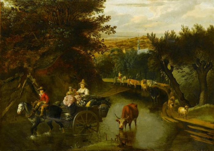 a-wooded-landscape-with-peasants-in-a-horse-drawn-cart-travelling-down-a-flooded-road.jpg!Large.jpg